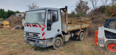 camion IVECO tribenne